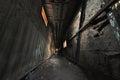 Spooky corridor shabby in abandon house Stock Photos