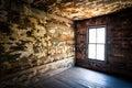 Spooky Creepy Abandoned Farm House Neglected Rot Royalty Free Stock Photo