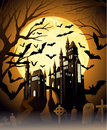 Spooky halloween night Royalty Free Stock Images