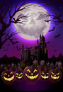 Spooky halloween night Royalty Free Stock Photo