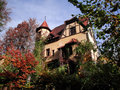 Spooky house in the south of munich Royalty Free Stock Photography