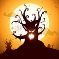 Spooky tree Royalty Free Stock Photography