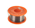 Spool of soldering tin Royalty Free Stock Photo
