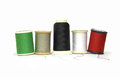 Spool of thread colored for sewing and clothing Stock Photo