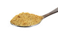Spoon Coconut Palm Sugar Granules Stock Photography