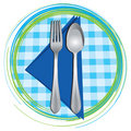 Spoon and fork Royalty Free Stock Photos