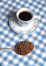 Spoonful  of cofee Royalty Free Stock Photography