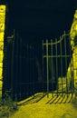 Spooooky Cemetery Gate