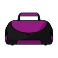 Sport bag gym isolated icon