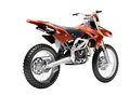 Sport bike enduro or trial close up on a light background with shadow Royalty Free Stock Photo