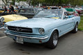 Sport car ford mustang convertible berlin may oldtimer tage berlin brandenburg may berlin germany Stock Image