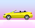 Sport convertible car icon Stock Photo