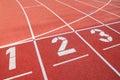 Sport della concorrenza Immagini Stock
