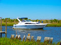 Sport Fishing Boat Royalty Free Stock Photo