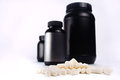 Sport and fitness supplements Royalty Free Stock Photo