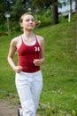 Sport girl Royalty Free Stock Photos