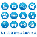 Sport & hobby icons