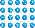 Sport icon set Royalty Free Stock Images