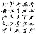 Sport flat  icon set for web and mobile set01