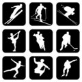 Sport_icons Royalty Free Stock Image