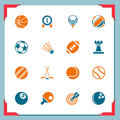 Sport icons | In a frame series Royalty Free Stock Images