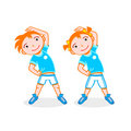 Sport kids Royalty Free Stock Image