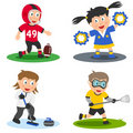 Sport Kids Collection [6] Royalty Free Stock Photo