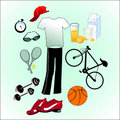 Sport life style Royalty Free Stock Photos
