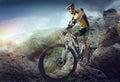 Sport. Mountain Bike Royalty Free Stock Photo