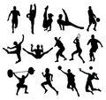 Sport shapes vector Stock Image
