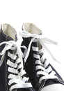 Sport shoes on white background Stock Image