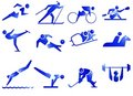 Sport Symbol Icons Royalty Free Stock Images