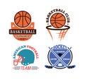 Sport team badge  set.
