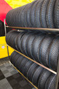 Sport tires Stock Photography