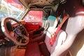 Sport utility vehicle cab Royalty Free Stock Photo