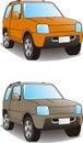 Sport Utility Vehicle illustration Royalty Free Stock Photo