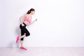Sport woman ready to run Royalty Free Stock Photo