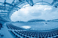 Sporting stadium illustration in detail Royalty Free Stock Photography