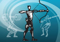 Sports_archery Royalty Free Stock Photos