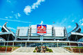 Sports authority field at mile high in denver april on april colorado it s a multi purpose arena Royalty Free Stock Images