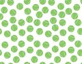 Green white Tennis Balls Pattern Royalty Free Stock Photo