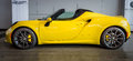Sports car Alfa Romeo 4C Spider Type 960, 2015. Royalty Free Stock Photo