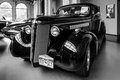 Sports car buick hot rod business coupe berlin germany may v big block andere black and white th oldtimer day berlin brandenburg Stock Photos