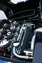 Sports car engine Royalty Free Stock Photo