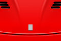 Sports Car Hood Illustration Royalty Free Stock Photos