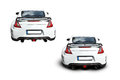 Sports car the rear of a nissan nismo z Royalty Free Stock Images