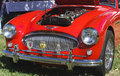 Sports car spartanburg sc � oct austin healey mark ii classic on display at the euro auto festival at the bmw auto zentrum on Stock Photos