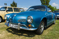 Sports car Volkswagen Karmann Ghia. Royalty Free Stock Photo