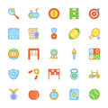 Sports Colored Vector Icons 2