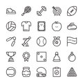 Sports Colored Vector Icons 7
